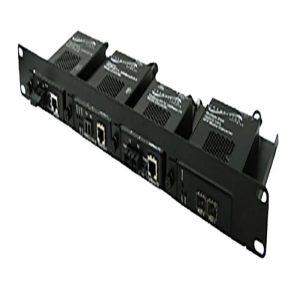 4-slot Media Converter Rack