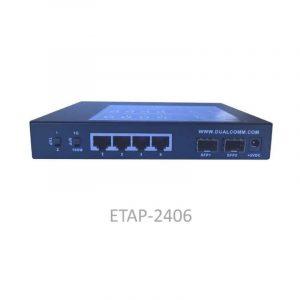 ETAP-2406 Dual-Speed 100M/1G SFP Network Tap