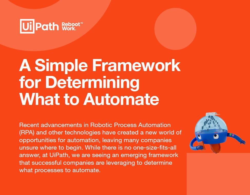 A simple framework for determining on automation